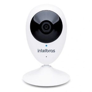 Câmera Intelbras 1MP Wi-Fi CUBE 2.8mm MIBO IC3 com fonte