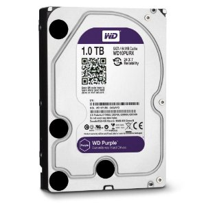 HD WD Purple Surveillance 1TB 3.5´ SATA WD10PURZ