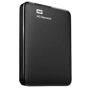 HD Externo WD Portátil Elements USB 3.0 2TB WDBU6Y0020BBK