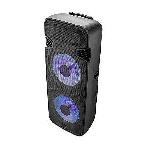 Caixa de Som Torre Dupla TWS Bluetooth 3.500W Multilaser SP344