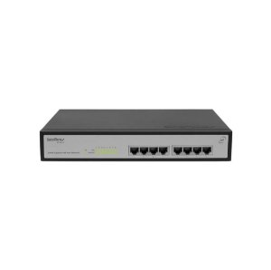 Switch 9 portas Fast Ethernet com 8 portas PoE+  SF 900 PoE Intelbras