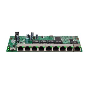 Switch PoE Reverso 8 portas Fast 1 porta Gigabit SF 910 PAC Intelbras