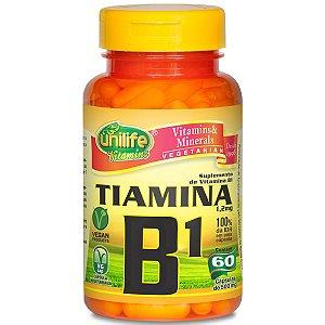 Vitamina b1 tiamina 60 capsulas 500 mg - Unilife