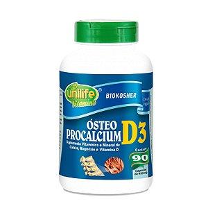 Osteo procalcium Calcio d3 90 capsulas  950 mg - Unilife