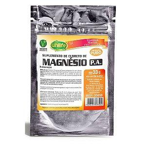 Cloreto de magnesio p.a sache 33gr Unilife