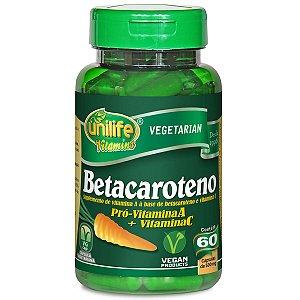 Betacaroteno 60capsulas 500mg Unilife