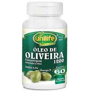 Óleo de oliveira 60 capsulas 1200mg -  Unilife