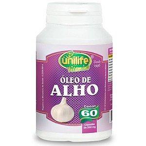 Óleo de alho 60 capsulas 350 mg - Unilife