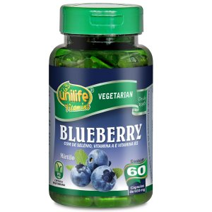 Blueberry 60 capsulas 550mg Unilife