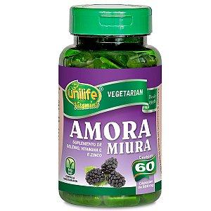Amora vitaminas 60 capsulas 500mg Unilife