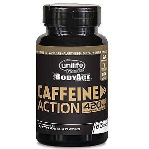Cafeina 60 capsulas 700mg Unilife