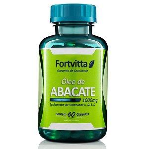 Óleo de abacate 60 capsulas 1000mg - Fortvitta
