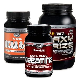 Kit 1 Waxy Maize Guaraná Açaí- 1Bcaa - 1Creatina