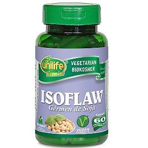 Isoflaw isoflavona 500 mg - 60 capsulas- unilife