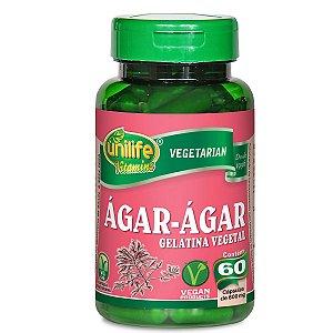 Agar-Agar 600Mg - 60 Capsulas - Unilife