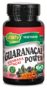 Guarana power 60 Capsulas 500 Mg - Unilife
