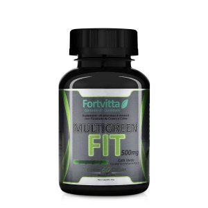 Multigreen Fit 60 Capsulas 500mg Fortvitta