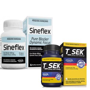 Kit Emagrecedor Sineflex + T-sek Sanibras