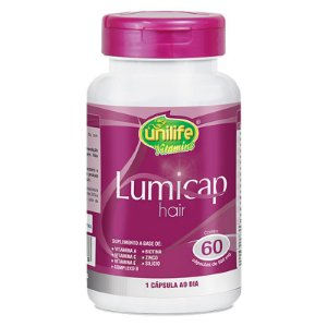 Lumicap Hair 500Mg Unilife - 60 Capsulas