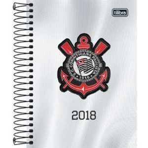 Agenda Diária Corinthians Tilibra 2018