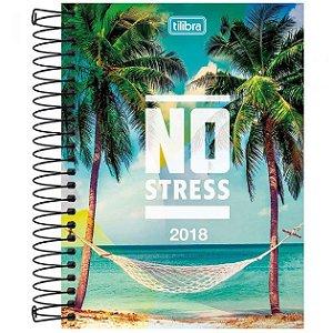 Agenda 2018 No Stress Espiral - Tilibra