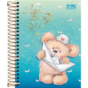 Agenda Love Bears Diária Espiral Tilibra 2018