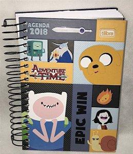 Agenda Adventure Time 2018 - Tilibra