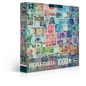 Quebra-cabeça 1000 Peças - Coleções - Cédulas