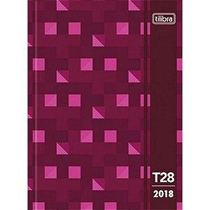 Agenda T28 Costurada Diária - Tilibra - 2018