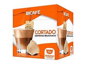 Cápsula de Cortado (Espresso Macchiato) para máquinas Dolce Gusto* (16 Bebidas)