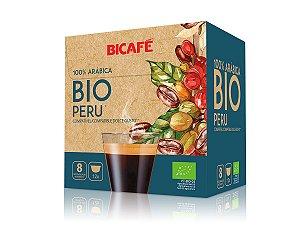 Cápsula de café Bio Peru 100% arábica para máquinas Dolce Gusto* (Intensidade 08)