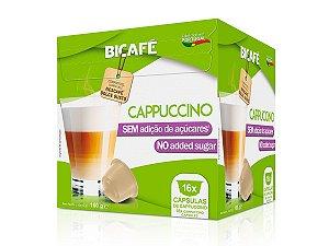Cápsula De Cappuccino SEM AÇÚCAR Para Máquinas Dolce Gusto*