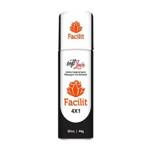 Anal Facilit 4 x 1 em Aerosol 50ml Soft Love