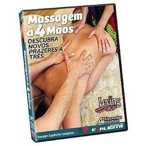 DVD Massagem A 4 Mãos Loving Sex