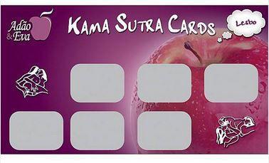 Raspadinha Kama Sutra Cards Posições Lesbo