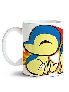 Caneca Pokémon Cyndaquil