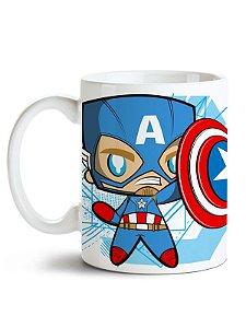 Caneca Vingadores - Capitão América