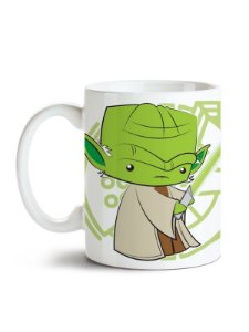 Caneca Star Wars Mestre Yoda