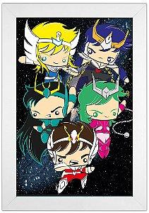 Poster Cavaleiros do Zodíaco