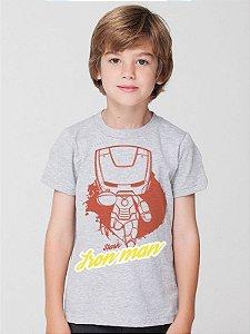 Camiseta Homem de Ferro Infantil