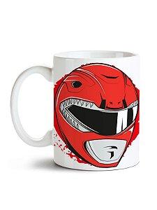 Caneca Power Rangers - Ranger Vermelho