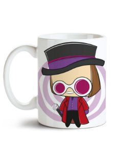 Caneca Willy Wonka - Jonny Depp