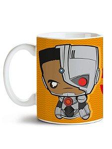 Caneca Liga da Justiça  - Cyborg