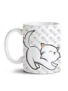 Caneca Pet - Meu Gato Branco