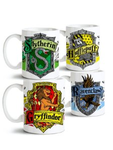 Conjunto de Canecas - Harry Potter Hogwarts