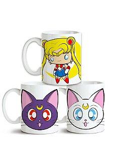 Conjunto de Canecas Sailor Moon