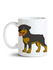 Caneca Pet - Rottweiler