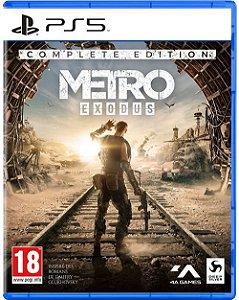 Metro Exodus Complete Ediition - PS5 (pré-venda)