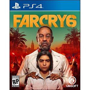 Far Cry 6 - PS4 (pré-venda)