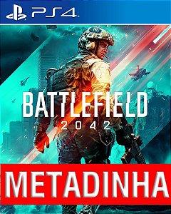 Battlefield 2042 - PS4 (pré-venda)  METADINHA - a outra metade você só paga quando o jogo chegar.